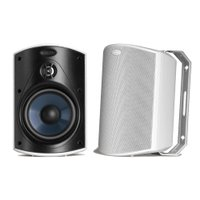 Polk Audio Atrium 4 - Par de caixas acústicas outdoor All Weather 100w Branco