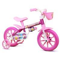 Bicicleta Aro 12 Infantil Feminina Flower
