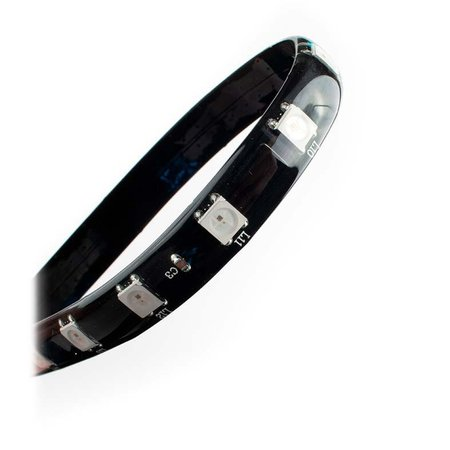 Fita Led Pichau Mag 100 ARGB 35cm Magnetica C/ Controle , PG-MAG100-RGB