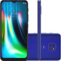 Smartphone Moto G9 Play 64GB Dual Tela 6.5 4G Wi-Fi Câmera 48MP + 2MP + 2MP - Azul Safira
