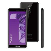 Smartphone Positivo Twist 3 S513 Quad-Core Dual Chip 32Gb Tela 5,5` - Preto