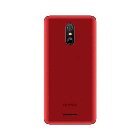 Smartphone Positivo Twist 3 S513 Quad-Core Dual Chip 32Gb Tela 5,5` - Vermelho