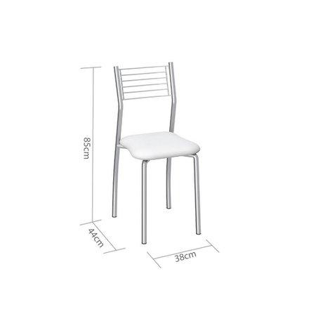 Cadeira Berlim C140  Branca