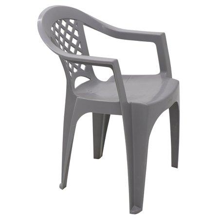 Cadeira Tramontina Iguape em Polipropileno Cinza