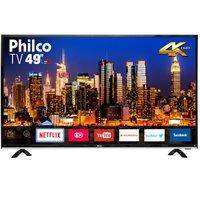 "Smart TV Philco 49"" PTV49F68DSWN 4K LED - Netflix"