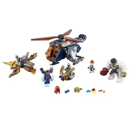 LEGO Super Heroes Marvel - Resgate de helicóptero dos Vingadores Hulk