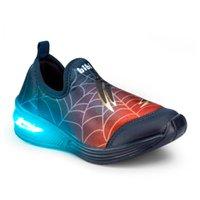 Tênis Space Wave 2.0 Led Bibi Homem-Aranha V21 1132013 - Azul Marinho - 25
