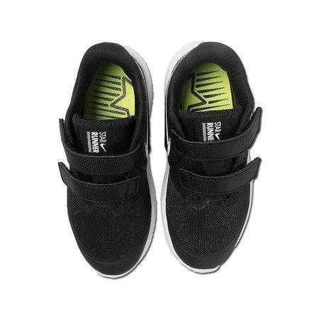 Tênis Infantil Menina Nike Star Runner 2 TDV Preto V20 AT1803 001 - Preto - 21