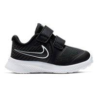 Tênis Infantil Menina Nike Star Runner 2 TDV Preto V20 AT1803 001 - Preto - 25