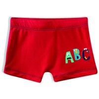 Sunga Boxer ABC Tip Top V21 Vermelho 2395124 - Vermelho - 4T