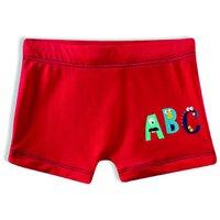 Sunga Boxer ABC Tip Top V21 Vermelho 2395124 - Vermelho - 2T