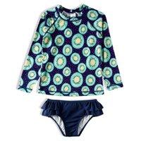 Conjunto Praia Kids Frutas Tip Top Marinho V21 3446313 - Azul Marinho - 06