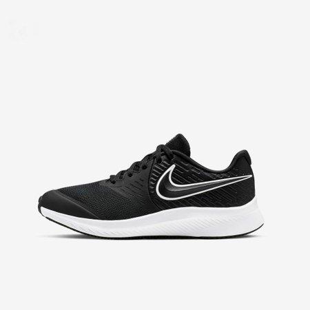 Tênis Infantil Nike Star Runner 2 TDV Preto V20 AQ3542 001 - Preto - 34