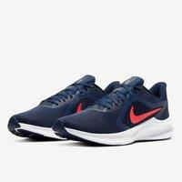 Tênis Masculino Nike Downshifter 10 Azul Marinho V20 C19981 400 - Azul Marinho - 37