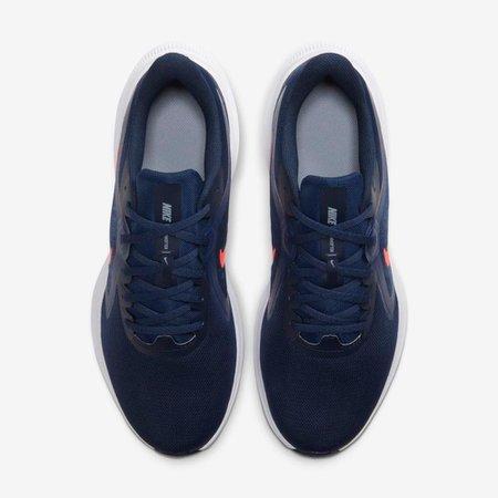 Tênis Masculino Nike Downshifter 10 Azul Marinho V20 C19981 400 - Azul Marinho - 41