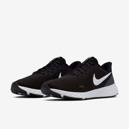 Tênis Nike Revolution 5 (GS) Preto V20 BQ3207 002 - Preto - 39
