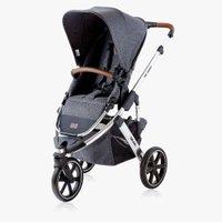 Carrinho de Bebê Salsa 3 Asphalt Diamond 6 Meses a 15kg ABC Design