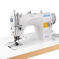 Máquina de Costura Reta Industrial com Refilador, Ponto Fixo, Lubrif. Automática JK-5559W