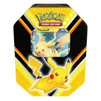 Pokémon Latas Poderes V Pikachu - Copag