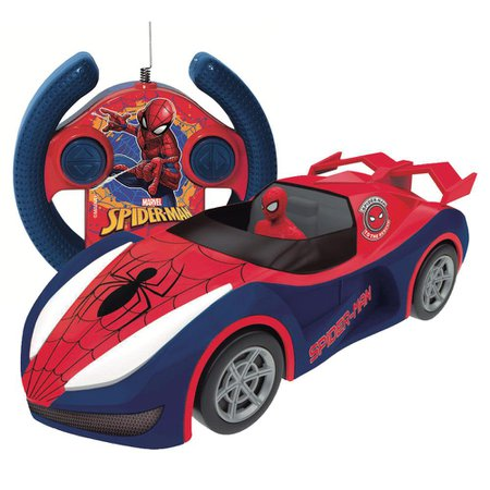 Carrinho Controle Remoto Overdrive Spiderman 7 Funções - Candide