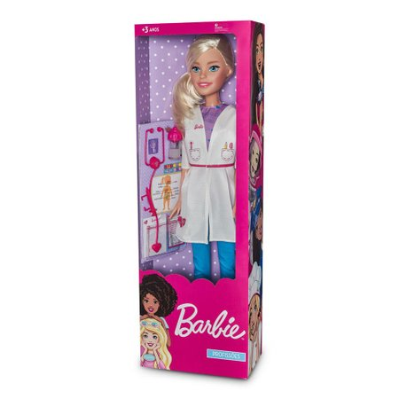 Boneca Barbie Médica - Fun Divirta-se