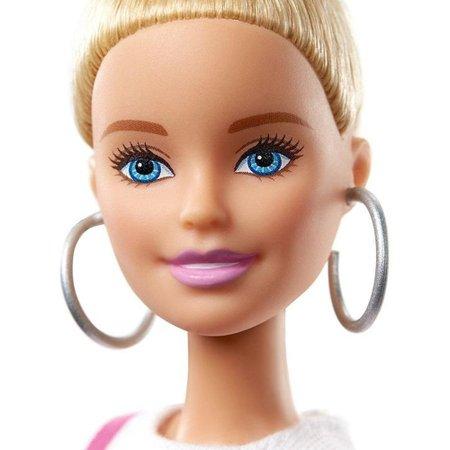 Barbie Fashionista Loira Com Vestido Brilhante - Mattel