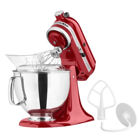 Batedeira Stand Mixer Vermelha - Kitchenaid