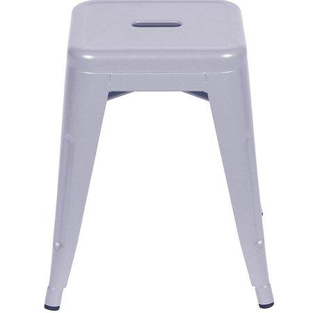 Banqueta Retro Baixa  Design OR-6607 - Cinza