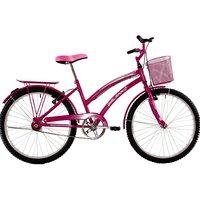 Bicicleta Feminina Aro 24 Passeio Susi - Pink