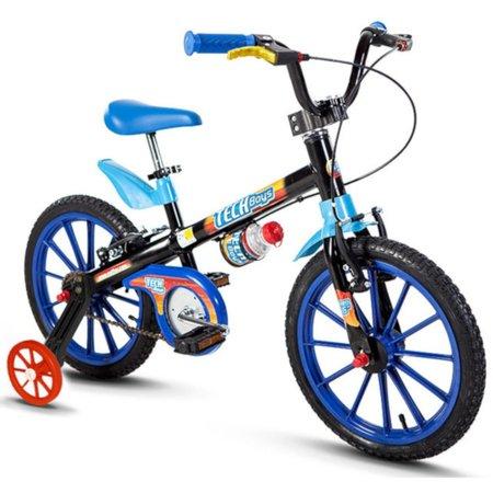 Bicicleta Nathor Infantil Masculina Tech Boys Aro 16