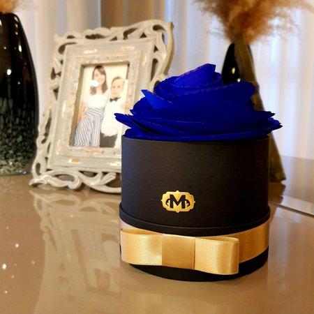 Flor Aromatizadora na Caixa Madressenza Azul