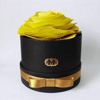 Flor Aromatizadora na Caixa Madressenza Amarelo