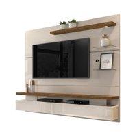 Painel Home Suspenso Greco Tv 65 polegadas LED Dj Móveis Off White/Demolição