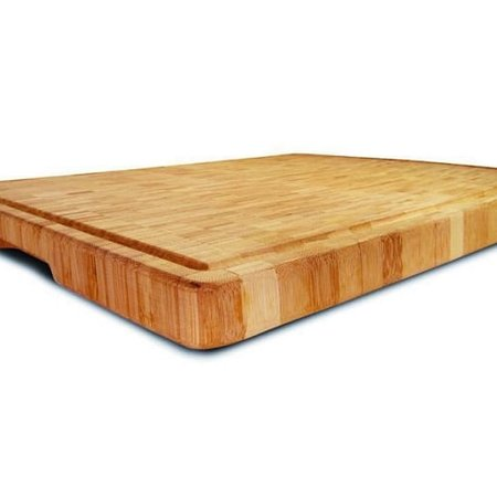 Tábua Corte em Bambu Grid 38x28cm Yoi