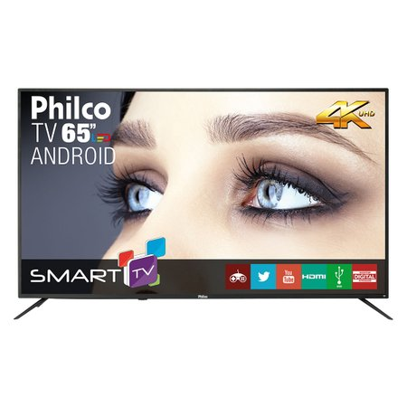 "Smart TV Philco 65"" PTV65A11DSGWA LED 4K"