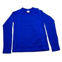 Camiseta Manga Longa Praia Tip Top Kids Marinho Claro V21 5605105 - Azul Marinho - 12