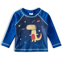 Camiseta Praia ML Tip Top Azul Royal V21 2725150 - Azul Marinho - 4T