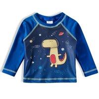 Camiseta Praia ML Tip Top Azul Royal V21 2725150 - Azul Marinho - 3T