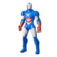 Boneco Marvel Homem De Ferro Patriota 24cm