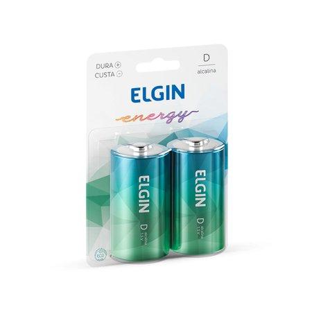 Pilha Alcalina Elgin Tipo-D LR20 (Blister C/2) - 82157