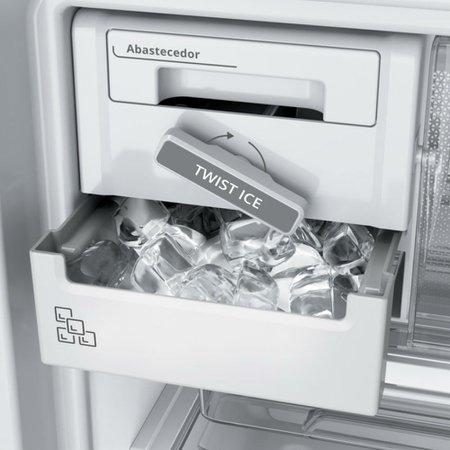 Geladeira Brastemp Frost Free Duplex 500 litros Branca com Turbo Control