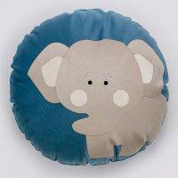 Almofada Infantil Redonda 35 cm Baby Elefantinho