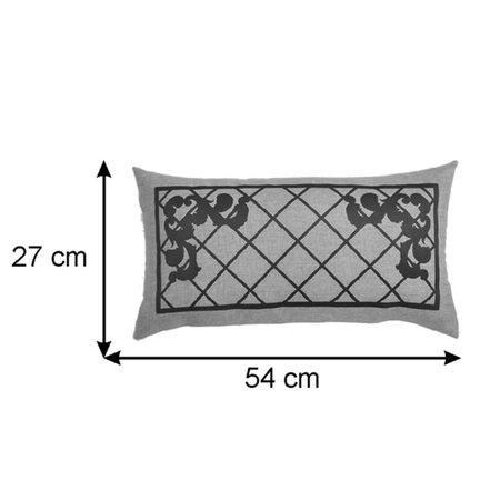 Almofada Rineira Nina 54x26cm