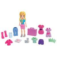 Polly Pocket Kit Fashion de Viagem - Mattel