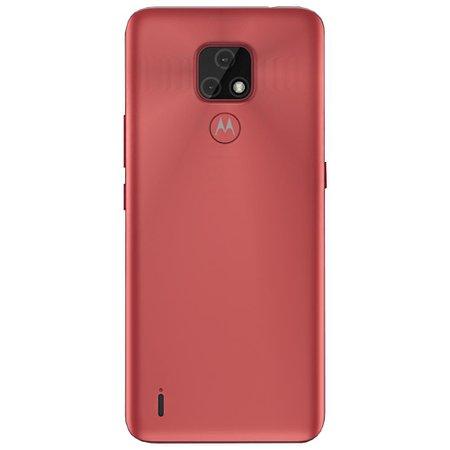 Smartphone Motorola Moto E7 64GB Dual Chip Android 10 Tela 6.5 Câmera 48MP + 2MP Frontal 5MP - Cobre
