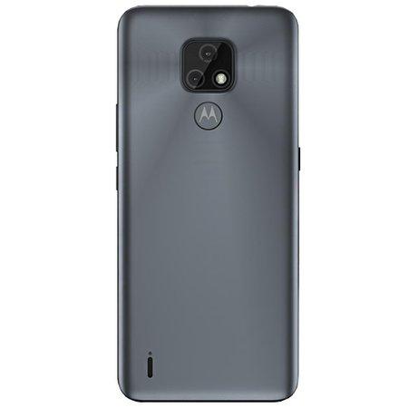 Celular Motorola Moto E7 Cinza Metálico 32GB Tela 6.5