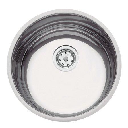 Cuba Tramontina Luna 35 BL Perfecta em Aço Inox Polido 35 cm