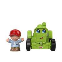 Fisher Price Mini Figura Little People Trator - Mattel