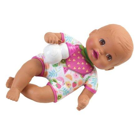 Boneca Little Mommy Recém Nascida Roupinha de Frutas - Mattel