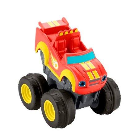 Fisher-Price Veículo Blaze Slam Go Racer Blaze - Mattel